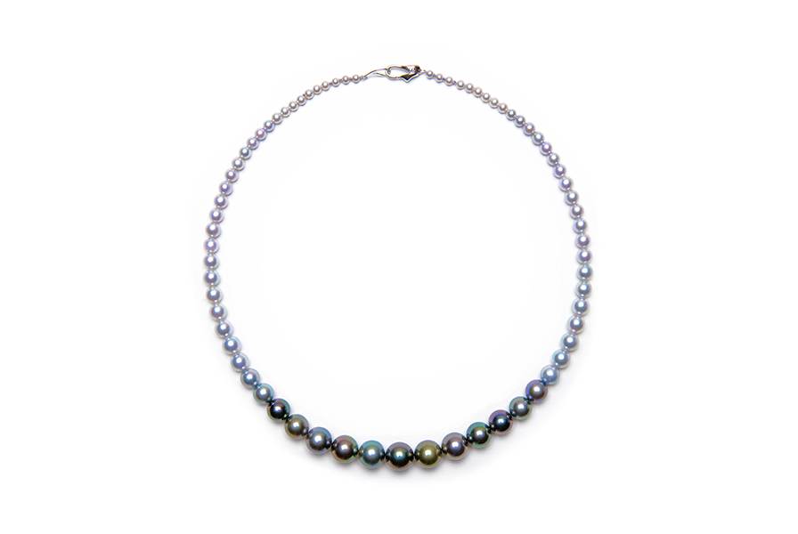 Multi-Color Gradation Necklace