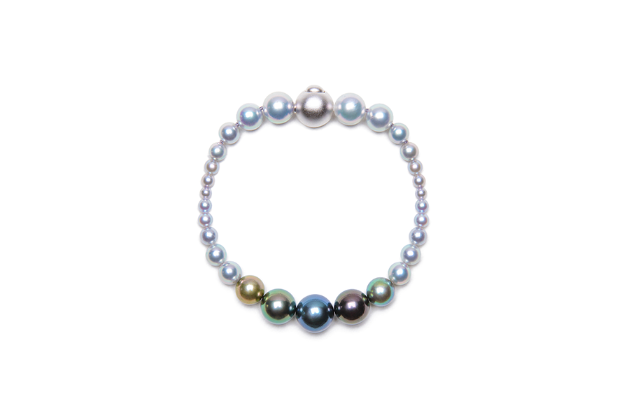 Multi-Color Gradation Bracelet